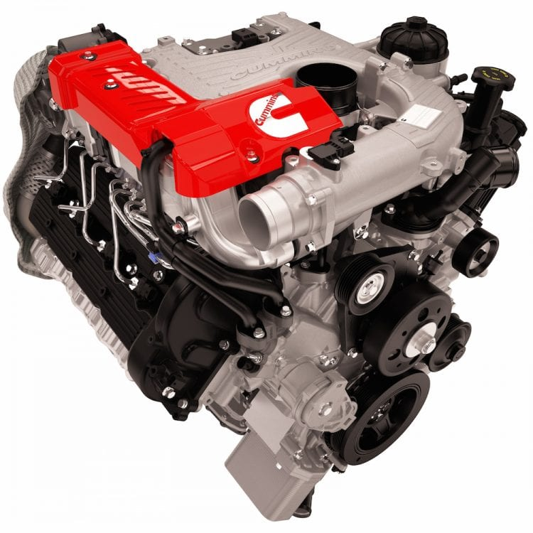 2015 Nissan Titan XD Cummins 5.0L V8 Turbo Diesel