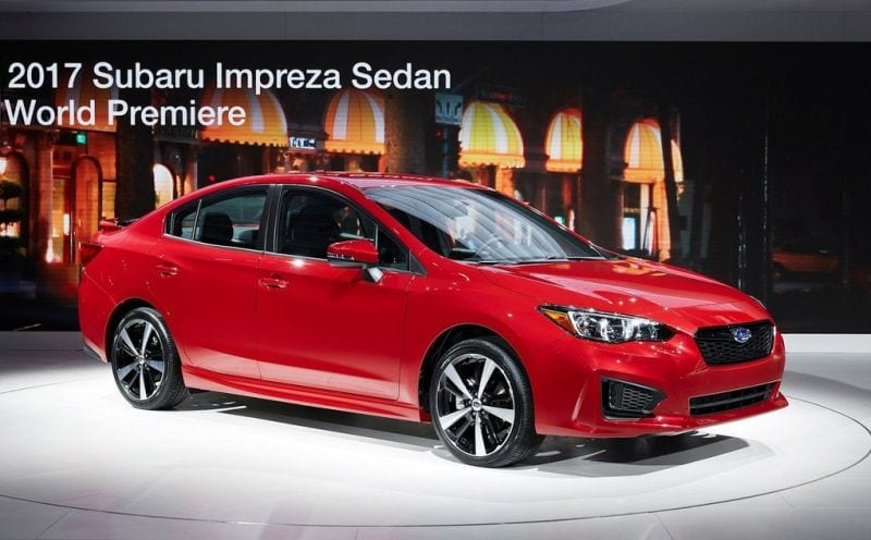 2017 subaru impreza review release date specs hatchback sedan. Black Bedroom Furniture Sets. Home Design Ideas