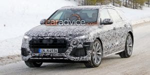 2018 Audi Q8 New Spy Shots