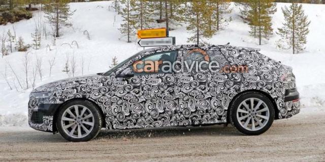 2018 Audi Q8 New Spy Shots