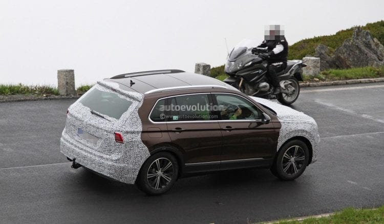 2018 Skoda Yeti spy photo; source: autoevolution.com