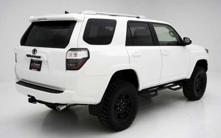 2018 Toyota 4Runner rendering shown