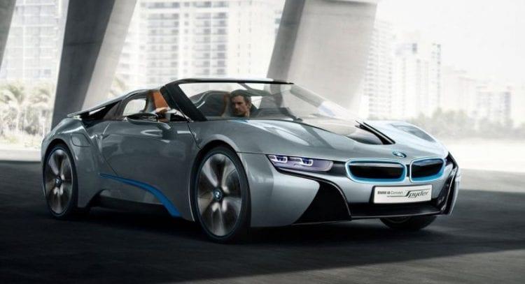 BMW i8 Spyder Concept Exterior