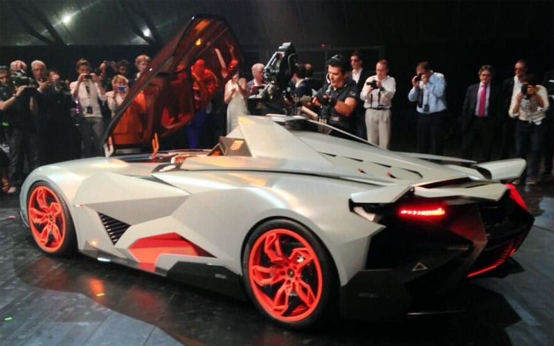 Lamborghini Egoista Concept Design Interior Engine Performance