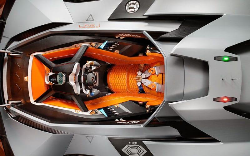 Lamborghini Egoista Concept interior