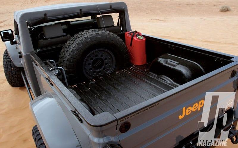 Mopar Jeep Concept Nukizer M715 bed