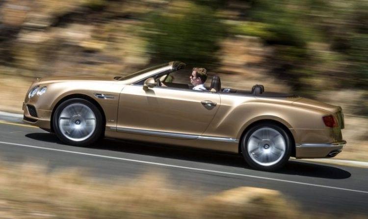 2016 Bentley Continental GT Convertible Price, Top speed, Interior