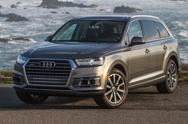 Audi Q7 shown