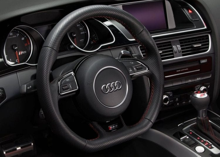 2015 Audi RS5 coupe sports edition interior shown; Source: netcarshow.com