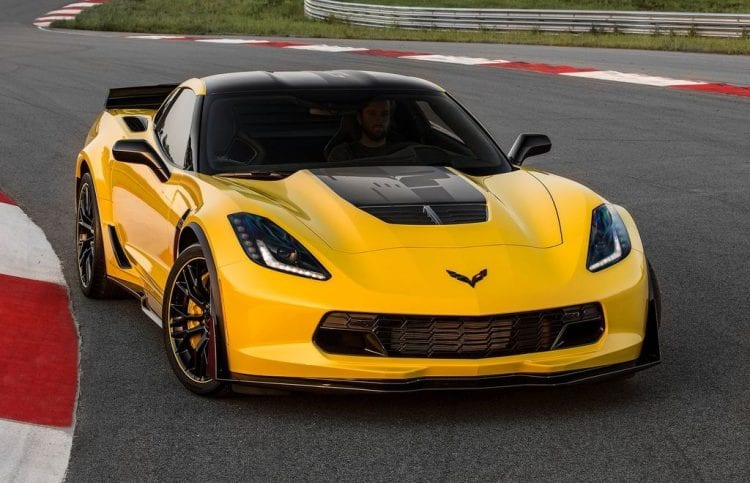 2016 Chevrolet Corvette Z06 C7; Source: netcarshow.com