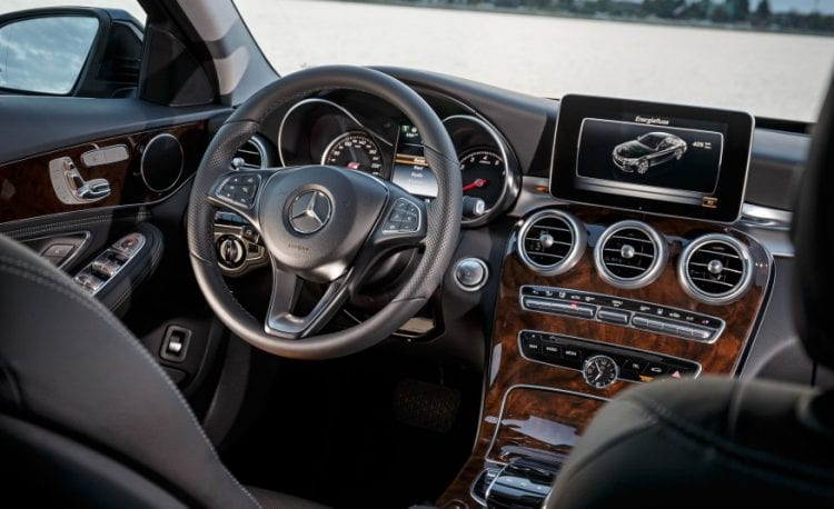 2016 Mercedes Benz C350 Plug-in Hybrid Interior