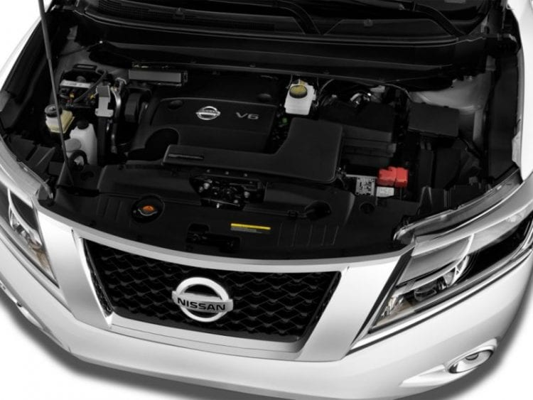 2016 Nissan Pathfinder Engine - Source: thecarconnection.com