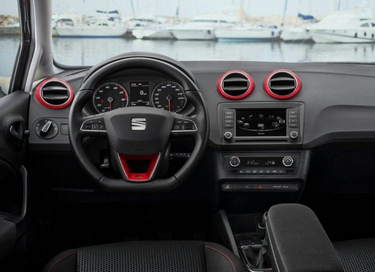 2016 Seat Ibiza Dashboard - Source: netcarshow.com