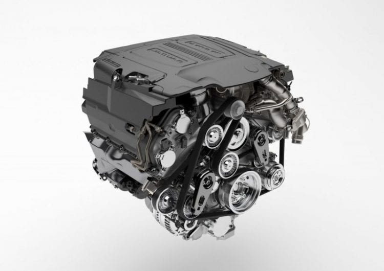 2017 Jaguar F-Pace Engine - Source: thecarconnection.com