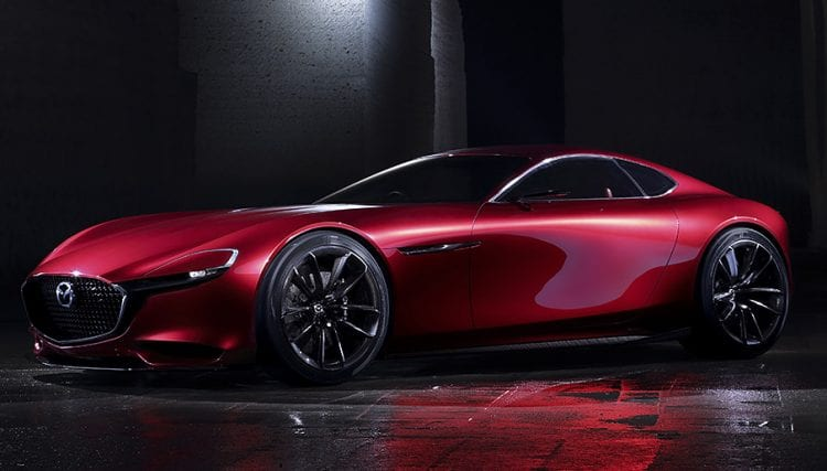 Mazda RX-Vision shown; Source: mazda.co.uk