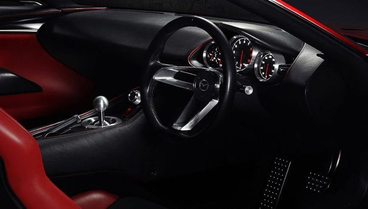 Mazda-RX Vision shown; Source: mazda.co.uk
