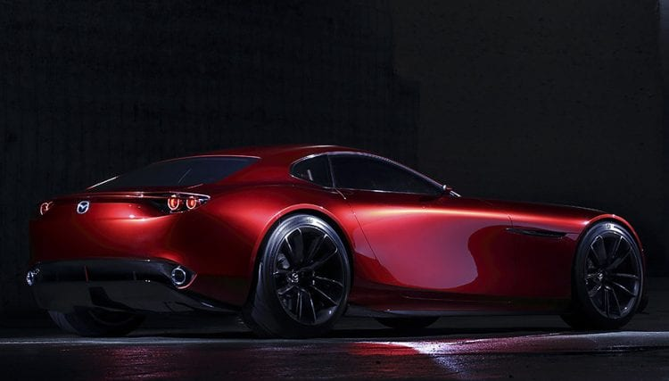 Mazda-RX Vision shown; Source: mazda.co.uk