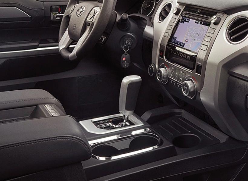 2017 Toyota Tundra Diesel interior