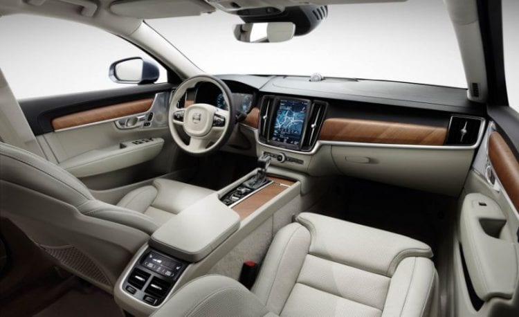 Image result for volvo v90 cross country interior