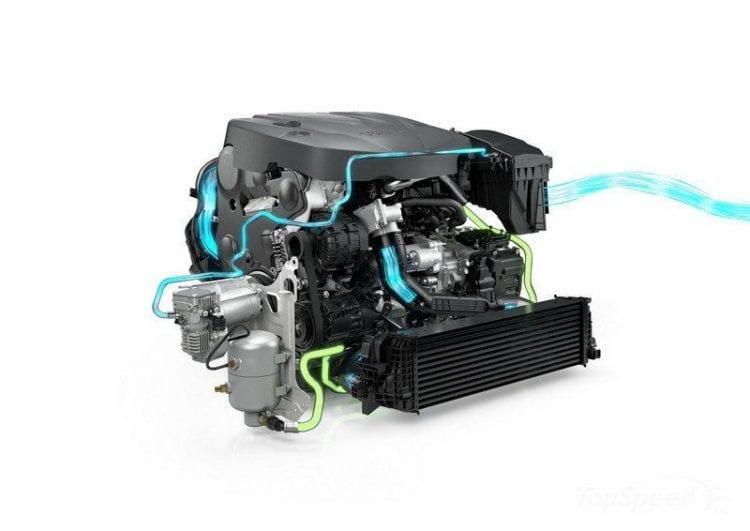 2017 Volvo V90 Engine - Source: topspeed.com