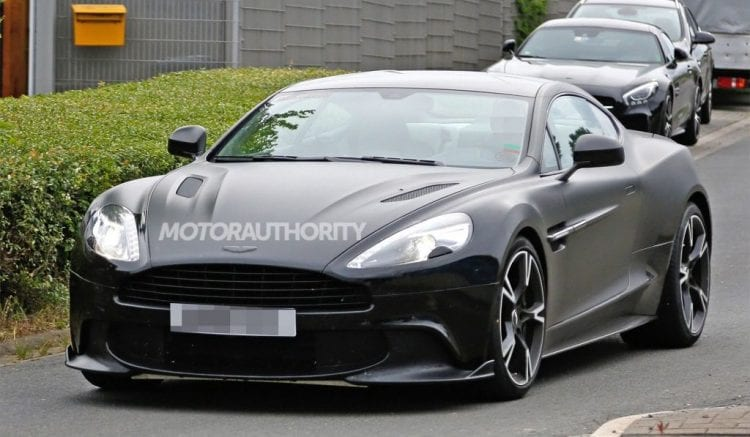 2018 Aston Martin Vanquish S spy photo; Source: motorauthority.com
