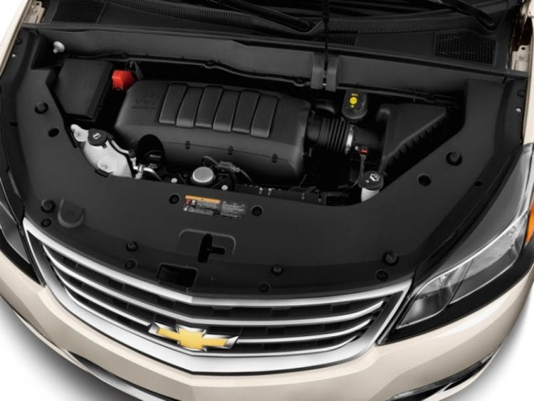 2016 Chevy Traverse Engine - Source: thecarconnection.com