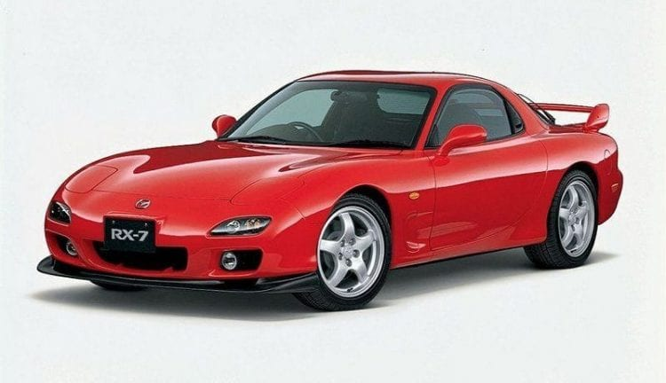 Original Mazda RX-7 shown; Source: topspeed.com