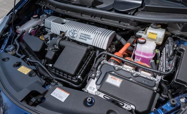 2016 Toyota Prius V Engine