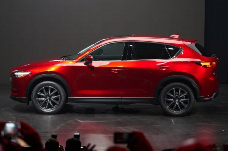 2017 Mazda CX-5 Side image source: motortrend.com