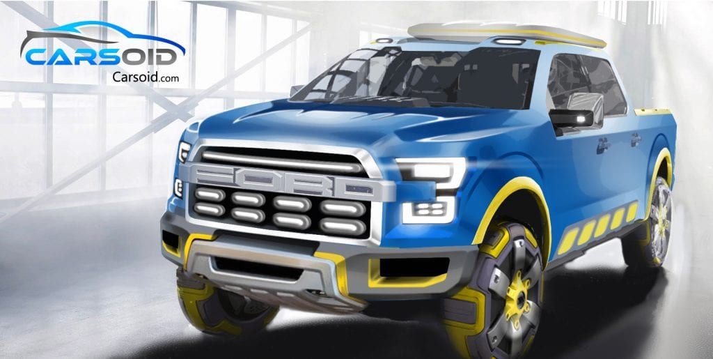 2017 Ford Atlas Rendered What Future Might Bring Photo
