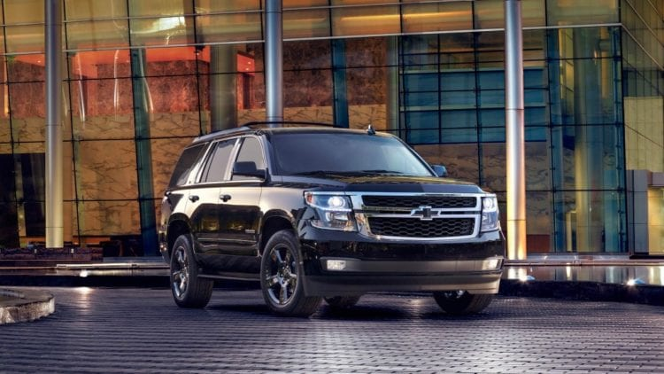 2017 Chevrolet Tahoe Design