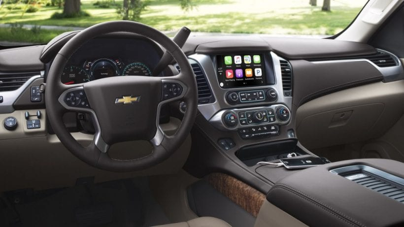 2017 chevrolet tahoe design inteiror exterior price. Black Bedroom Furniture Sets. Home Design Ideas