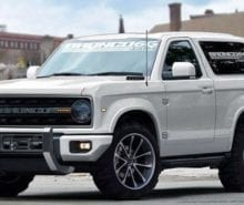 Ford Bronco Testing In Australia