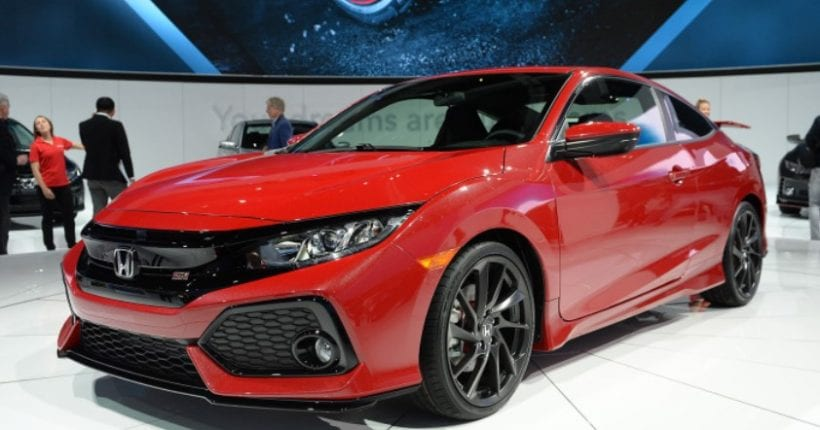 2017 honda civic si sport injected high performance price specs. Black Bedroom Furniture Sets. Home Design Ideas