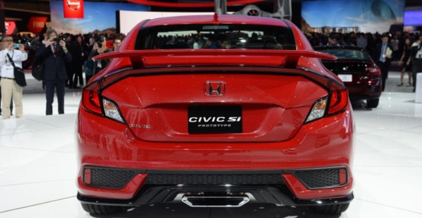2017 honda civic si sport injected high performance for 2017 honda civic reliability