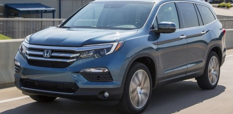 2017 honda pilot comes with android and apple carplay honda news. Black Bedroom Furniture Sets. Home Design Ideas