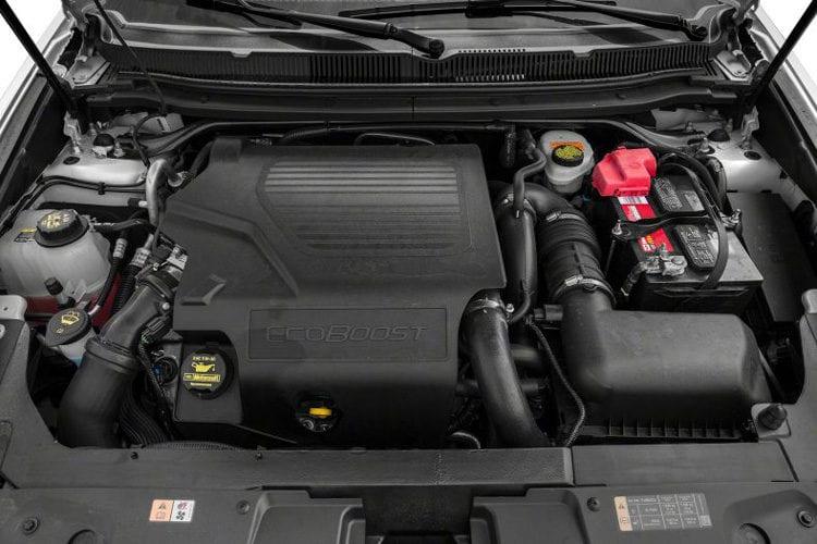 2017 Lincoln MKT Engine