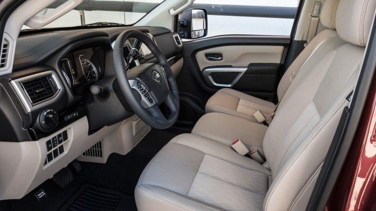 2017 Nissan Titan Single Cab Interior