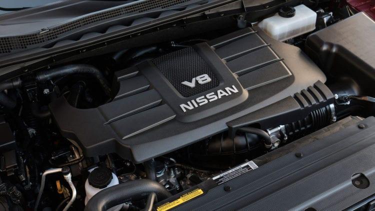 2017 Nissan Titan Single Cab Engine