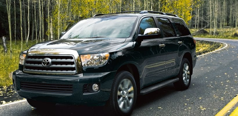 2017 Toyota Sequoia Design Price Interior Exterior