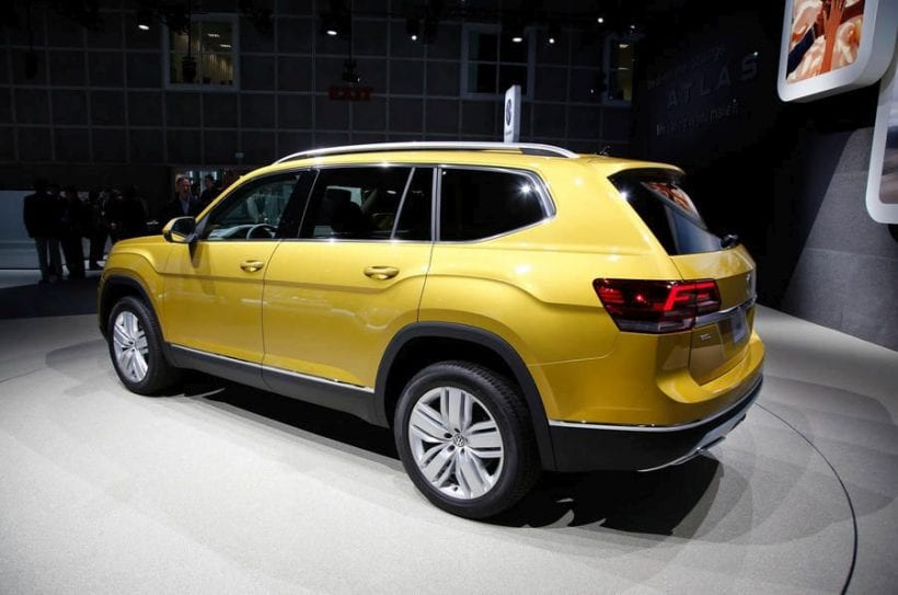 2017 volkswagen atlas price release date specs news full size suv. Black Bedroom Furniture Sets. Home Design Ideas