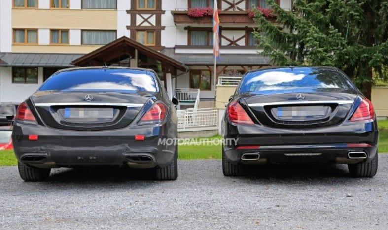 2018 Mercedes Benz S Class Spy Photos Price Review