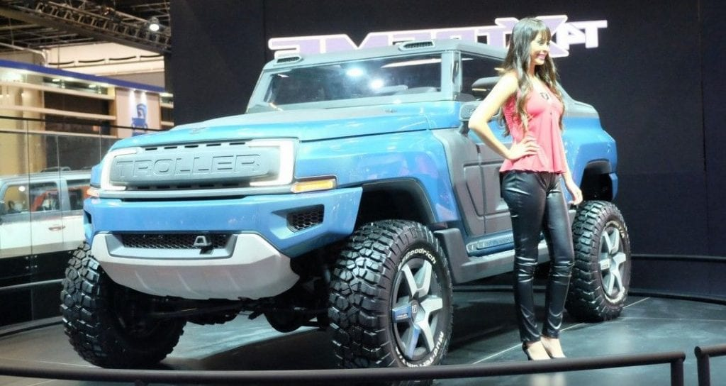 2016 Ford Bronco >> Ford Bronco similar to Brazil's Troller T4 Xtreme? Heavy - Duty Concept