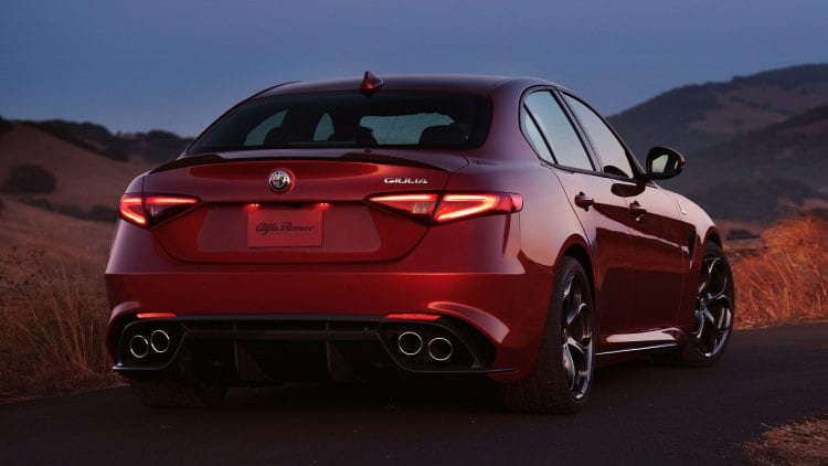 alfa romeo giulia available from 38 990 quadrifoglio priced at 73 595. Black Bedroom Furniture Sets. Home Design Ideas
