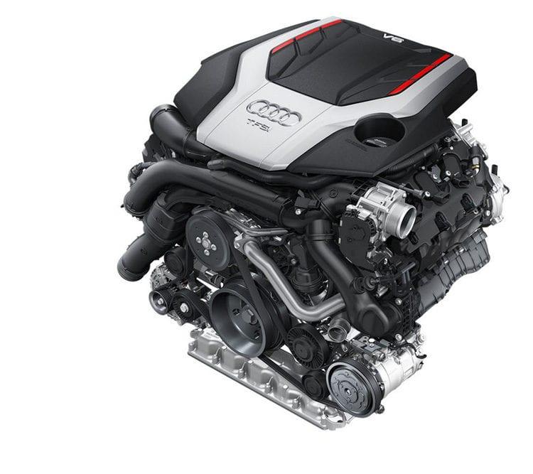 2017 Audi S5 Engine