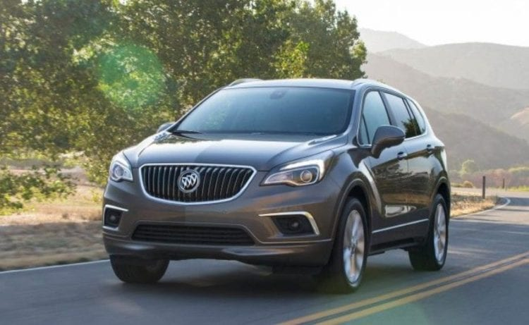 2017 Buick Envision front view