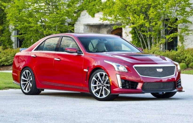 Cadillac Cts V Side View