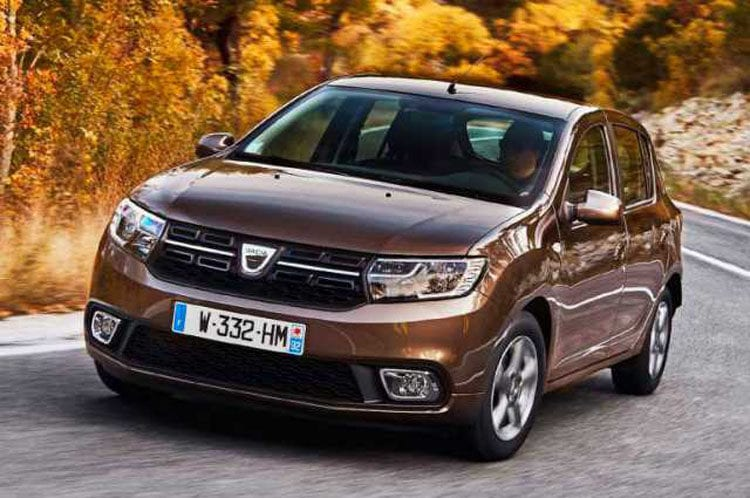 2017 dacia sandero price design interior exterior. Black Bedroom Furniture Sets. Home Design Ideas
