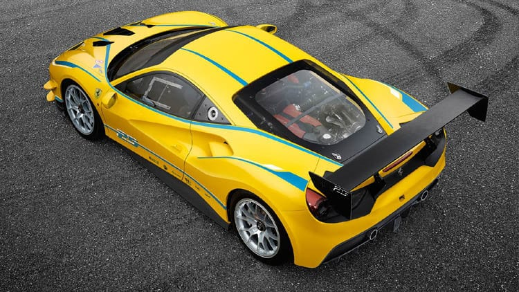 2017 Ferrari 488 Challenge Styling
