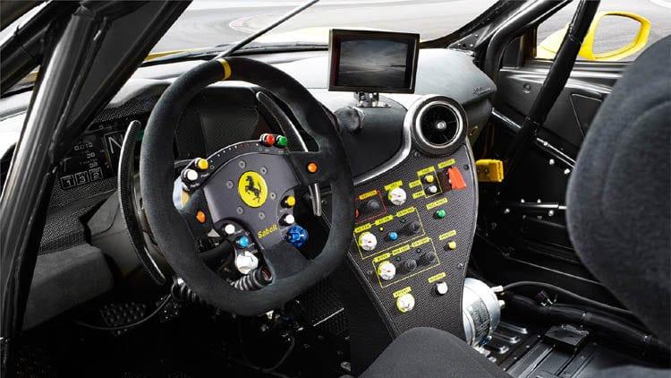 2017 Ferrari 488 Challenge Interior